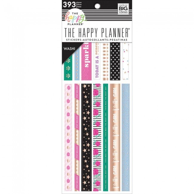 Carnet de Washi Tape Girly