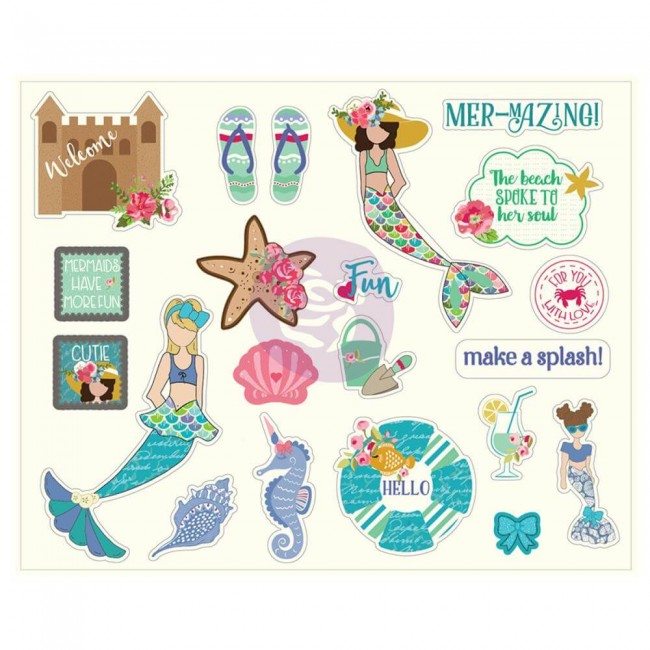 Die Cuts Mermaid Kisses