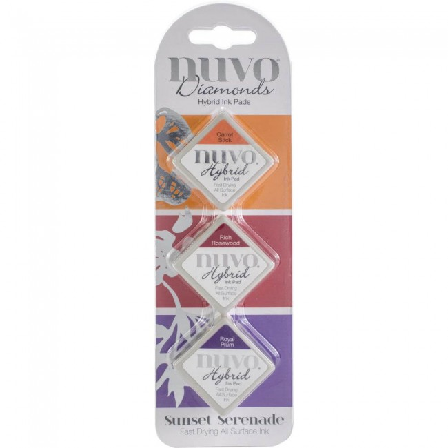 Nuvo Diamonds Hybrid Ink Sunset Serenade