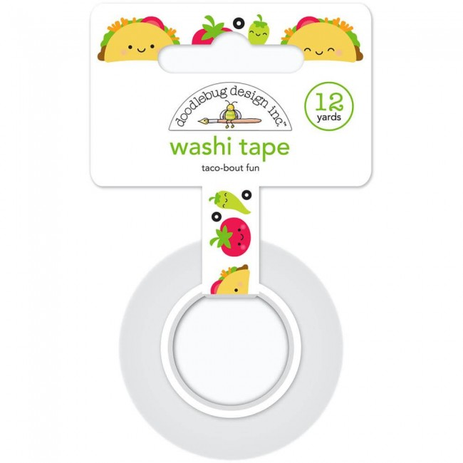 Washi Tape So Much Pun Taco-Bout Fun