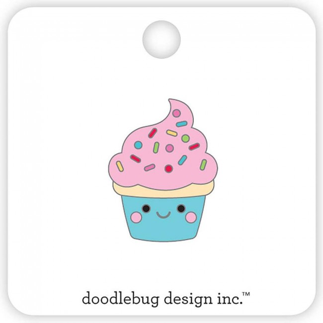 Pin So Much Pun Cupcake