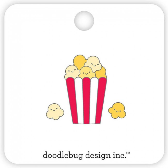 Set de Pins So Much Pun Popcorn