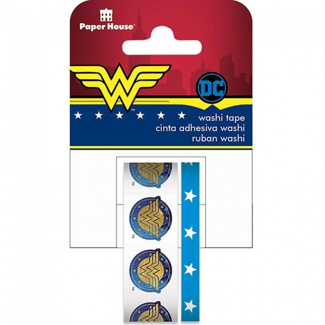 Lot de Washi Tape Wonder Woman