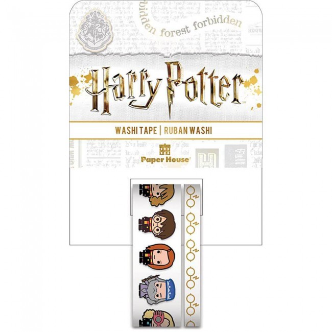 Lot de Washi Tape Harry Potter Chibi