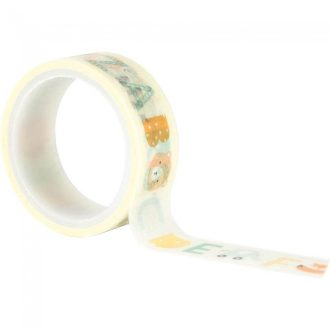 Washi Tape Hello Baby Boy Baby Boy Alphabet