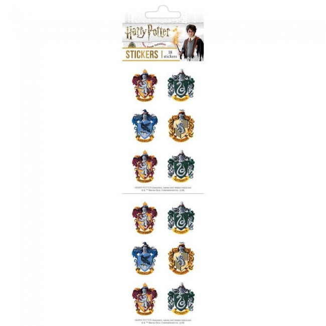 Autocollants Harry Potter Crests