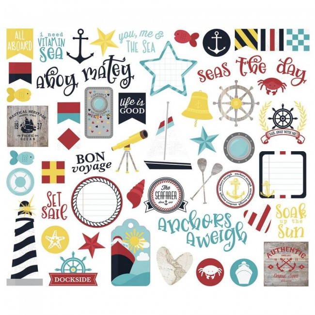 Die Cuts Cruisin Bits & Pieces