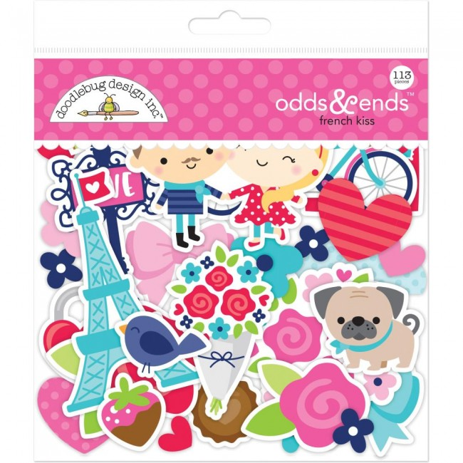 Die Cuts French Kiss Odds & Ends