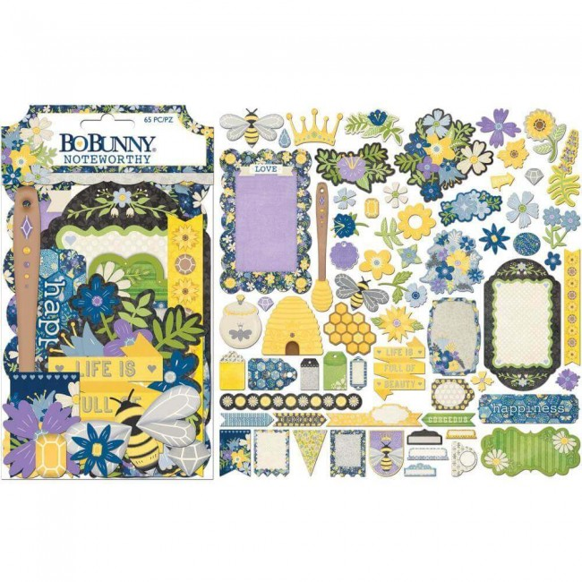 Die Cuts Bee-utiful Noteworthy