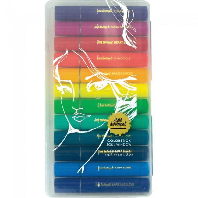 Lot de 12 pastels ColorSticks Making Faces Soul Window