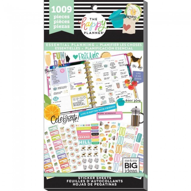 Carnet d'autocollants Value Pack Create 365 Planner Essentials