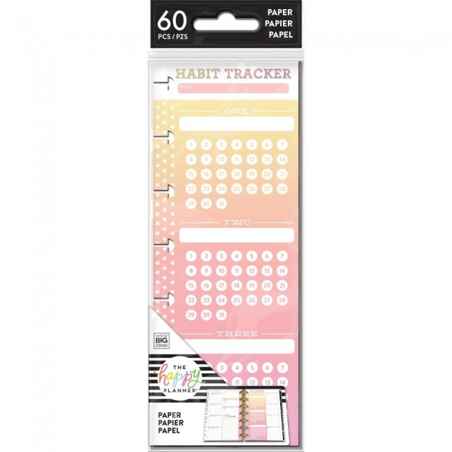 Insert pour Happy Planner Mini Create 365 Habit Tracker