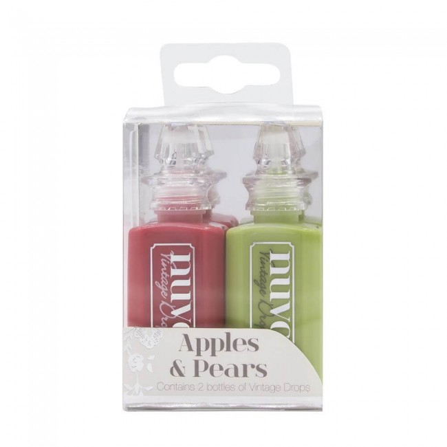 Lot 2 Vintage Drops Apples & Pears