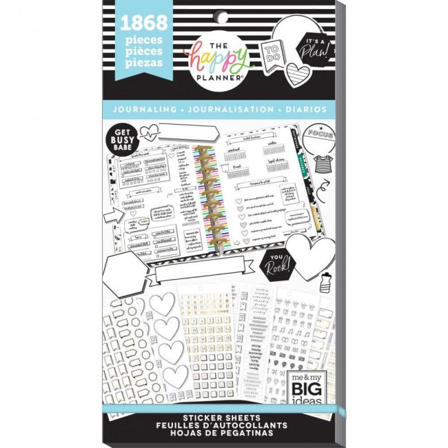 Carnet d'autocollants Value Pack Create 365 Happy Journal Functional