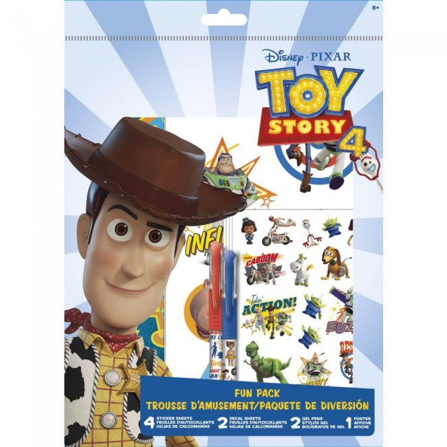 Autocollants Fun Pack Toy Story 4