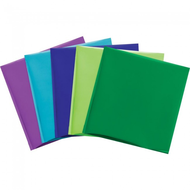Lot 15 feuilles Foil Quill Thermo transferables 12x12 Peacock