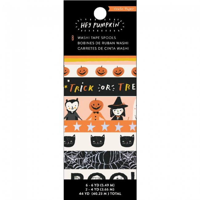 Lot de Washi Tape Hey Pumpkin