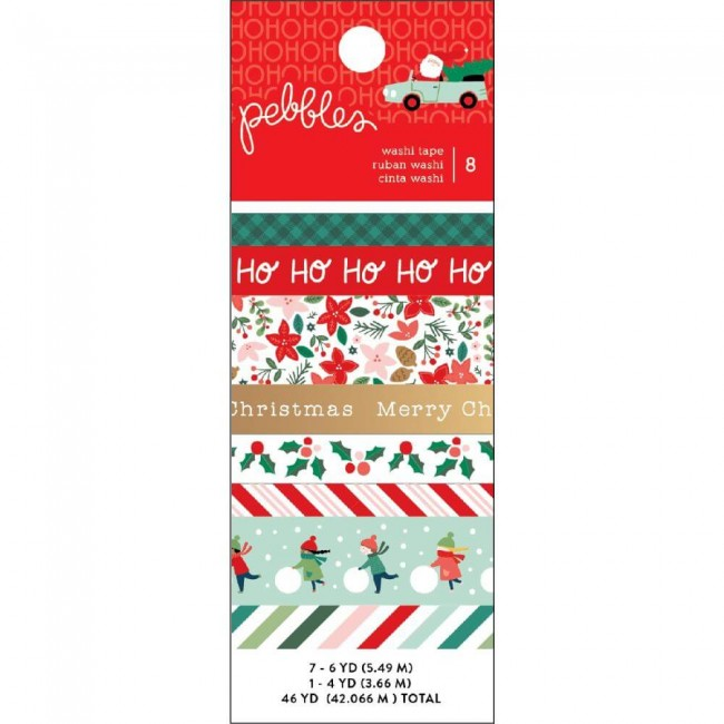 Lot de Washi Tape Merry Little Christmas