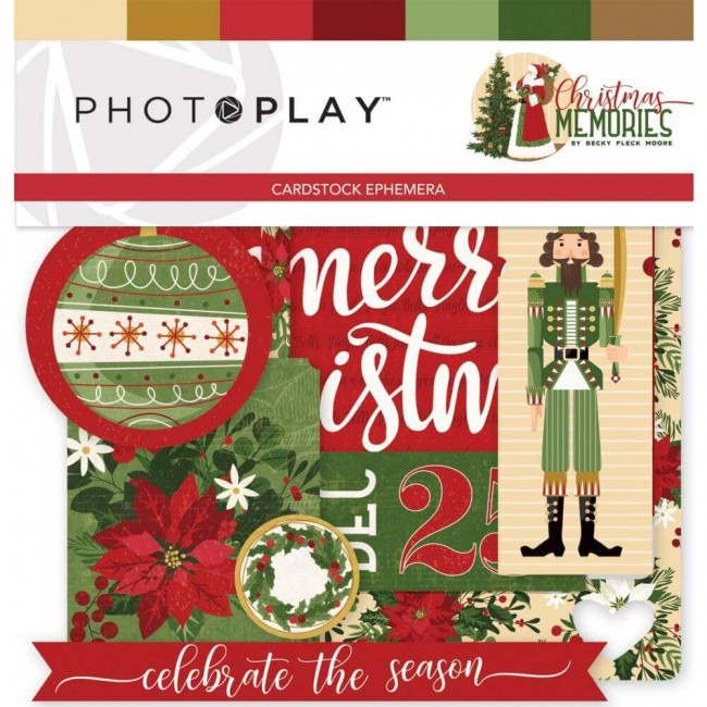 Die Cuts Christmas Memories