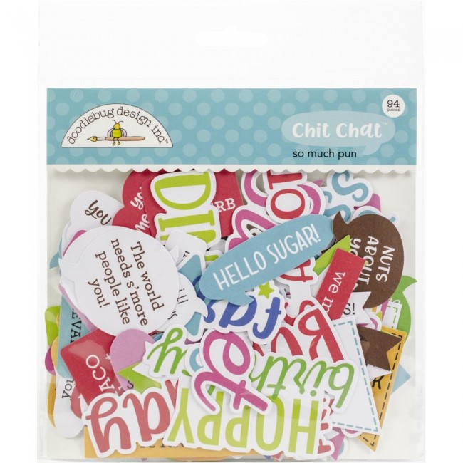 Die Cuts So Much Pun Chit Chat