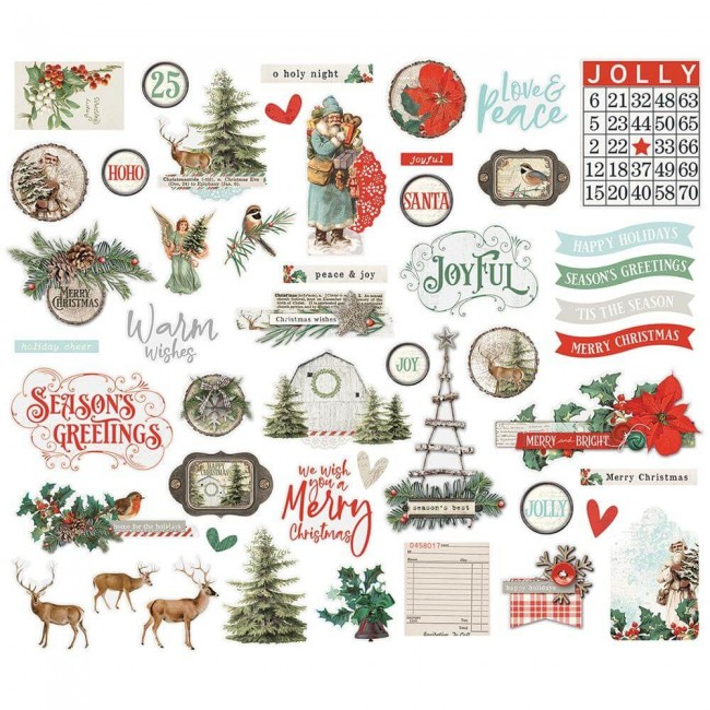 Die Cuts Country Christmas Bits & Pieces