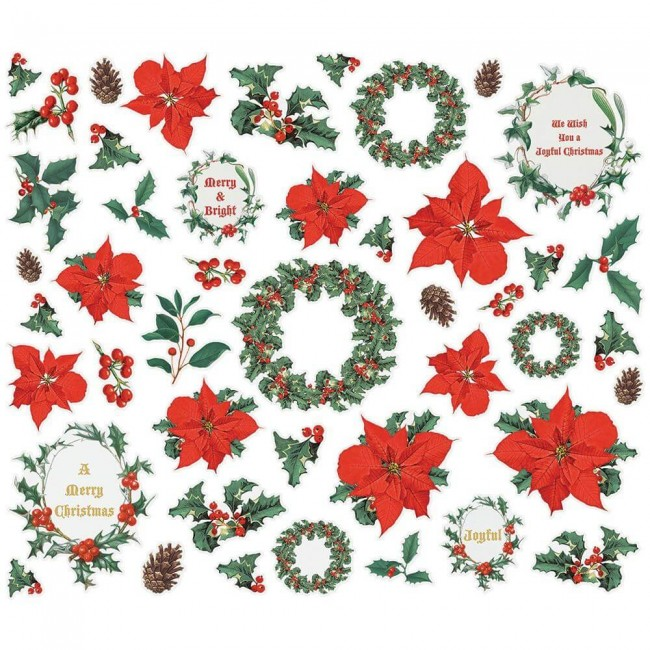 Die Cuts Country Christmas Bits & Pieces Floral