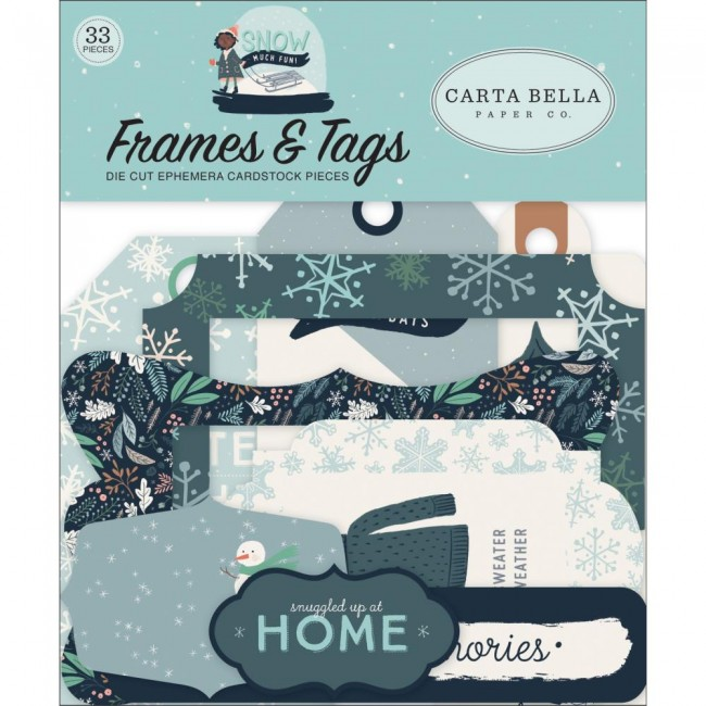 Die Cuts Snow Much Fun Frames & Tags
