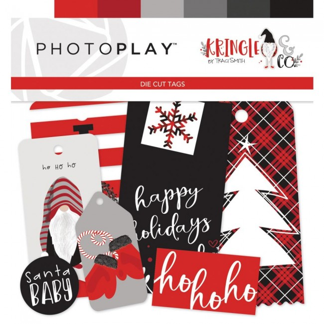 Die Cuts Kringle & Co Tags