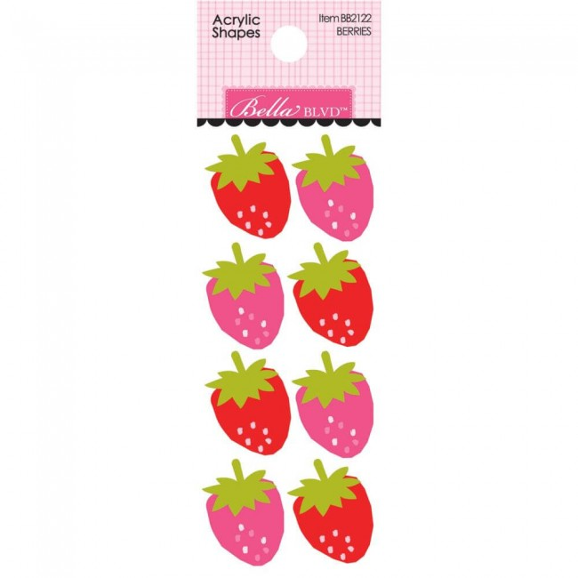 Embellissement Squeeze The Day Berries