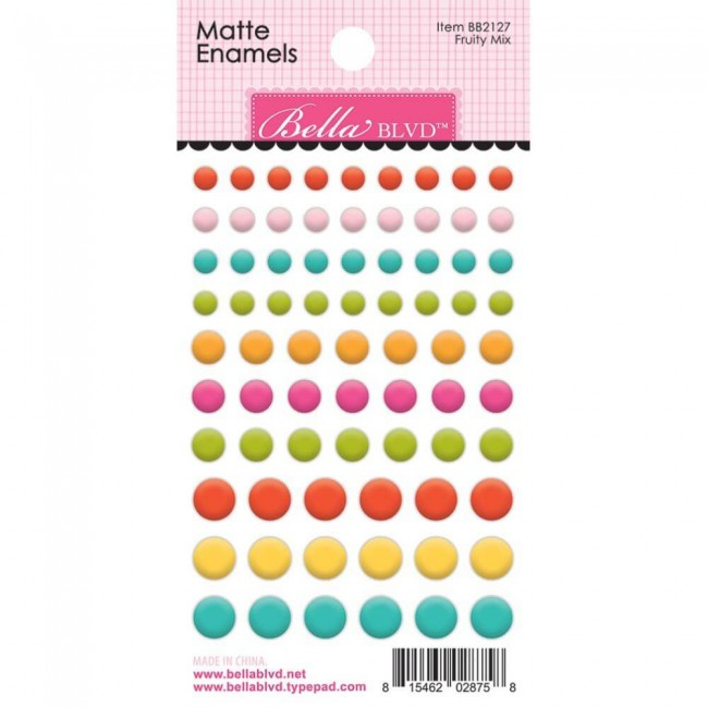 Enamel Dots Squeeze The Day Fruity Mix