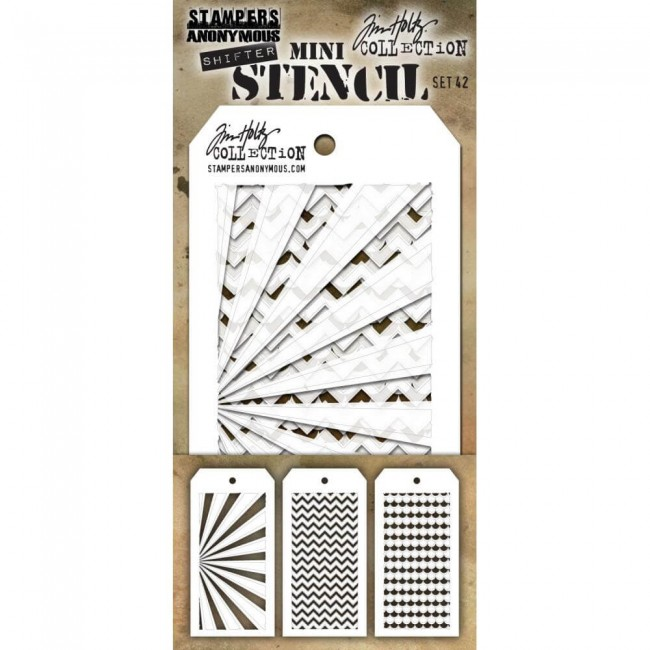 Pochoir Set #42 Tim Holtz