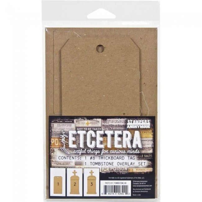 Tags Etcetera Tombstone #8 Tim Holtz