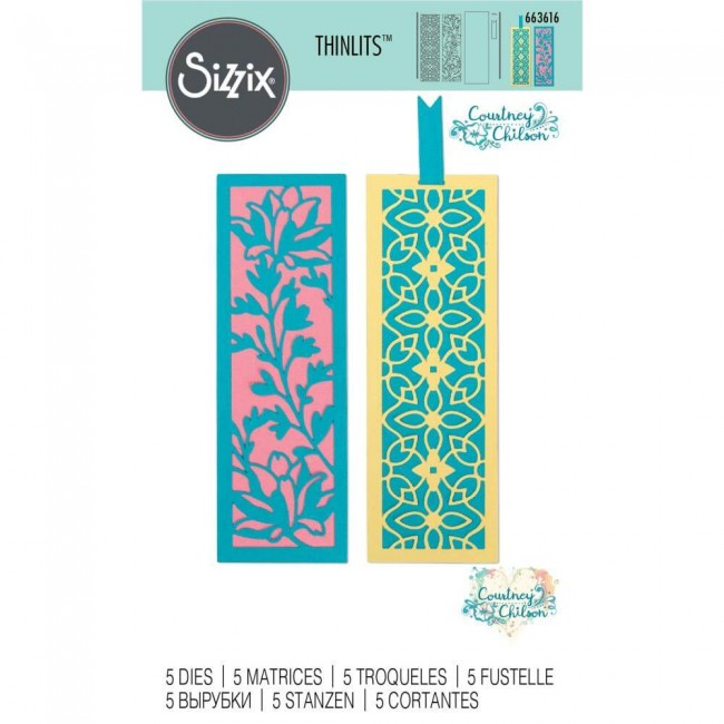 Matrice de Découpe Thinlits Botanical Bookmarks