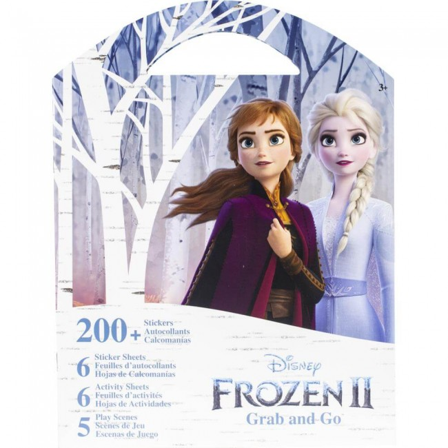 Autocollants Frozen II Grab and Go