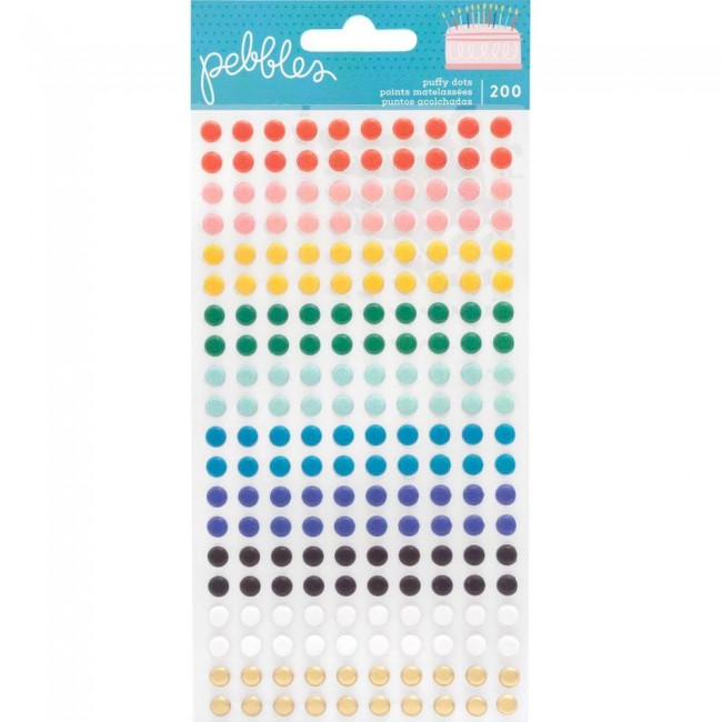 Enamel Dots Happy Cake Day