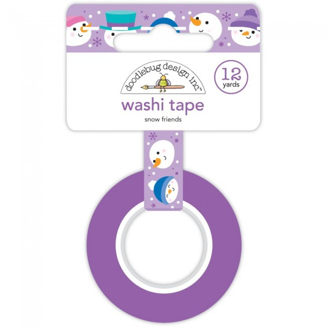 Washi Tape Winter Wonderland Snow Friends
