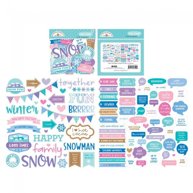 Die Cuts Winter Wonderland Odds & Ends Chit Chat