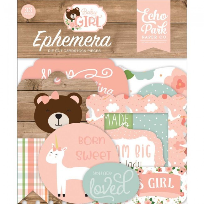 Die Cuts Baby Girl Icons