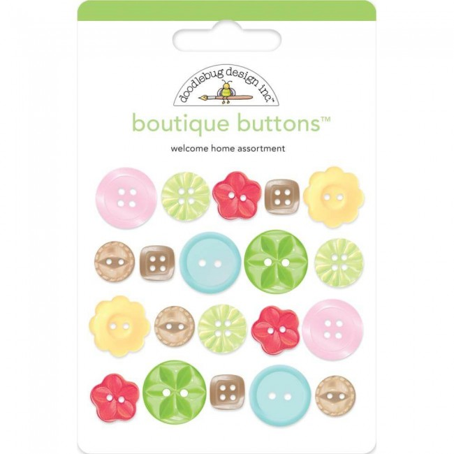 Boutons Love Notes Welcome Home
