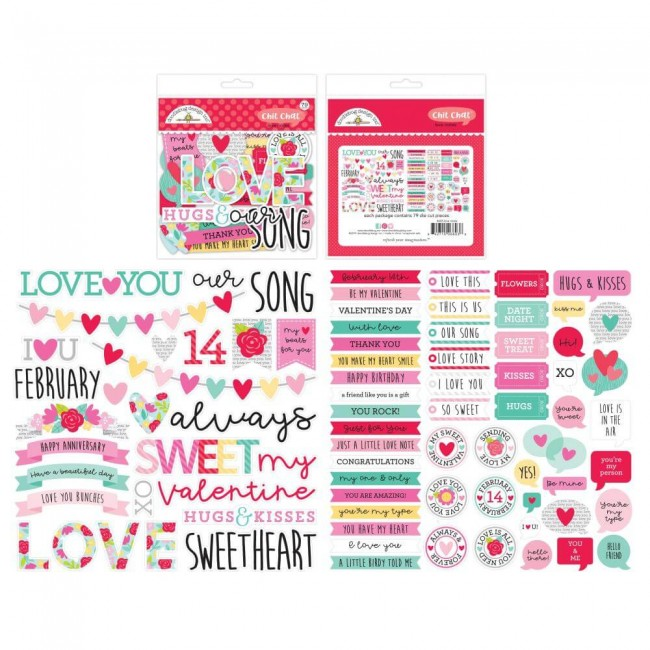 Die Cuts Love Notes Chit Chat