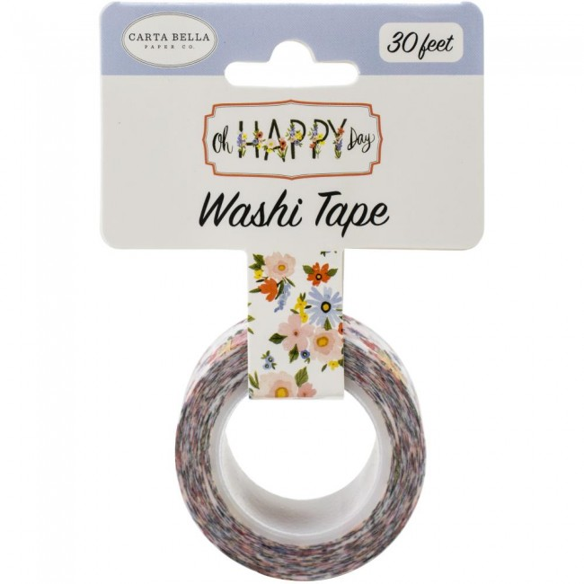 Washi Tape Oh Happy Day Spring Happy Day Floral