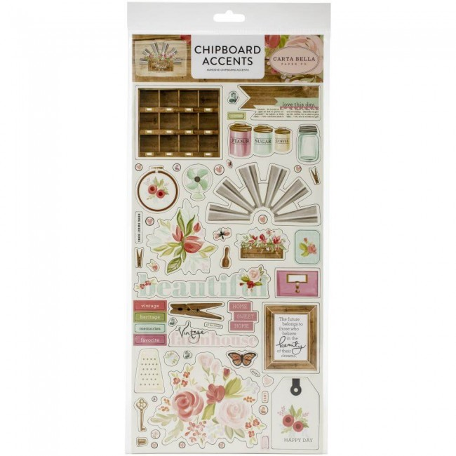 Chipboard 6x13 Farmhouse Market Accents