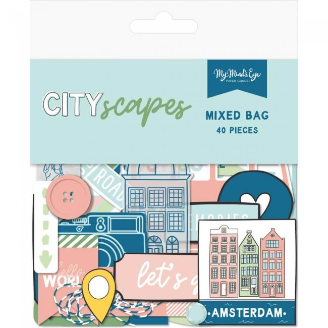 Die Cuts Cityscapes