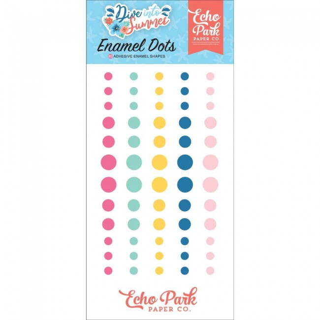 Enamel Dots Dive Into Summer