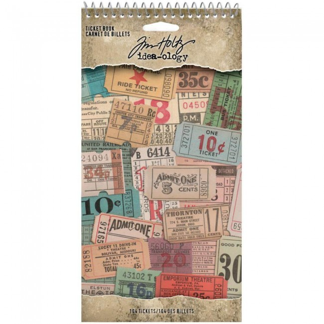 Carnet d'autocollants Idea-ology Ticket Book