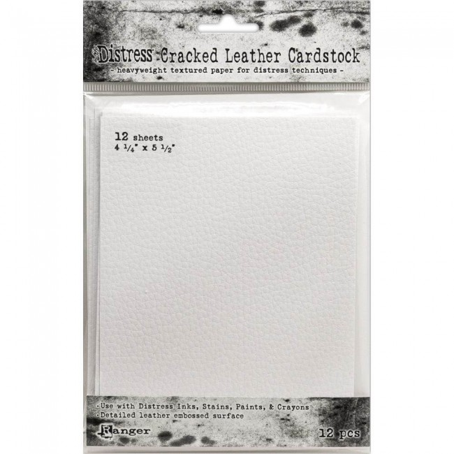Kit de Cardstock Tim Holtz Distress Cracked Leather