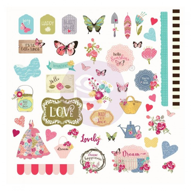 Die Cuts Butterfly Bliss Julie Nutting Ephemera