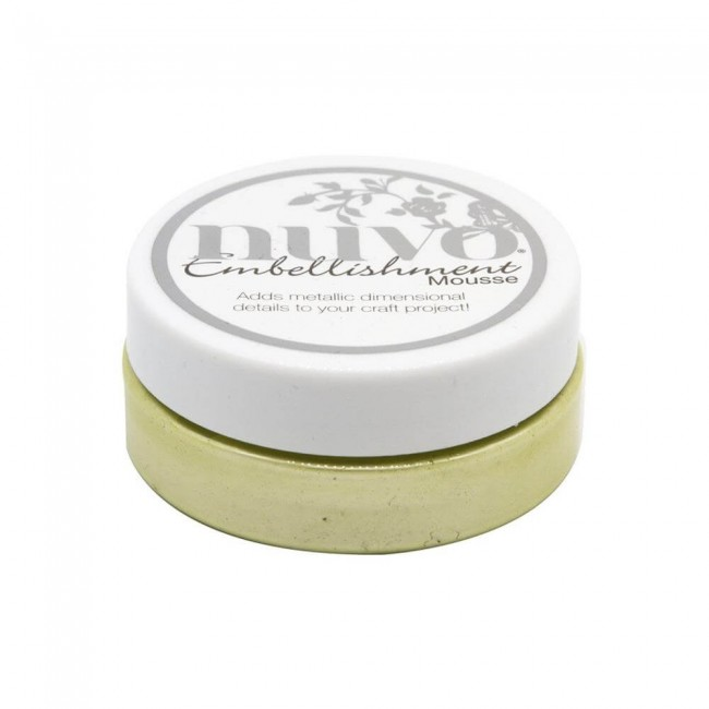 Embellishment Mousse de Nuvo Mint Tea
