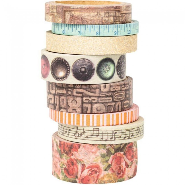 Lot de Washi Tape Family Heirlooms