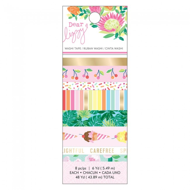 Lot de Washi Tape Here & Now Dear Lizzy